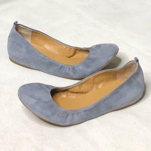 J. Crew Anya leather upper ballet flats SZ:10.5